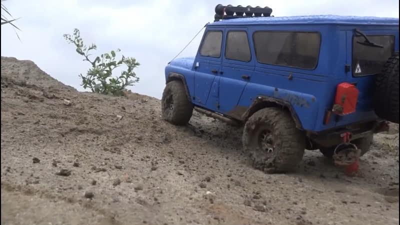 BLUAZ по грязи