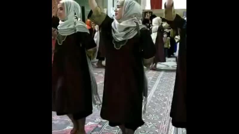 старинный даргинский танец ❤️