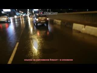 Жуковский мост в Омске портит колеса автомобилям
