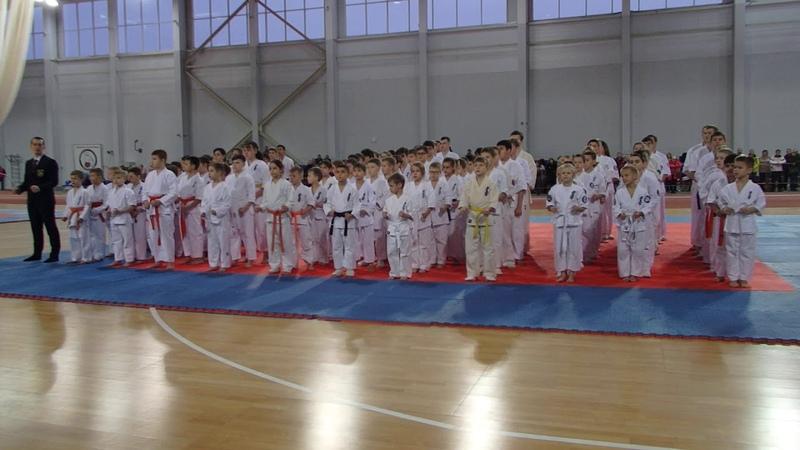 Торжественное открытие Чемпионата Мурманской области по Кумите 2020 Лёгкоатлетический манеж