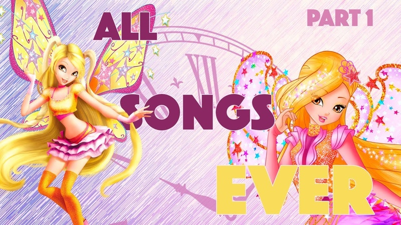 Winx Club   ALL SONGS EVER!   Compilation Of Every Song In The Show [Part 1 - ITALIAN]