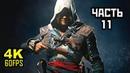 Assassin's Creed IV Black Flag Прохождение Без Комментариев Часть 11 PC 4K 60FPS
