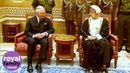 Prince Charles Travels to Muscat Following Death of Oman's Sultan