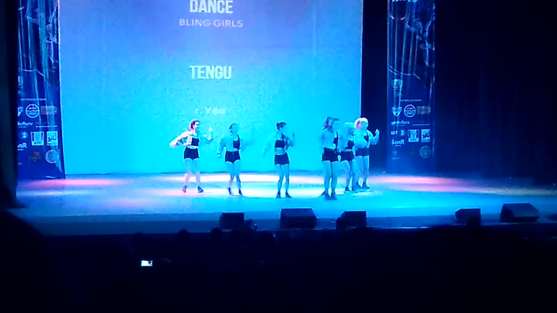 Танец TENGU - TEEN's PERFECT POWERFUL DANCE (BLING GIRLS)