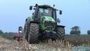 Deutz Fahr TTV 9340 aratura test in campo