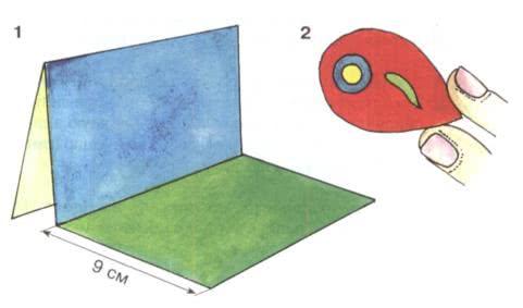 Простые поделки из пластилина - Солнечная лужайка Эта поделка имеет задний план, как в театре, и сцену с действием. Выполнение этой композиции требует определённых навыков. Разметьте и вырежьте
