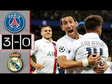 PSG vs Real Madrid Full Highlights (3-0) - All Gоals Extеndеd Hіghlіghts - 2019