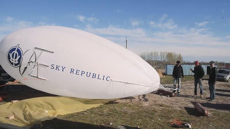 UTV. Инженеры из Уфы спроектировали уникальный дирижабль. Вы можете помочь им его построить