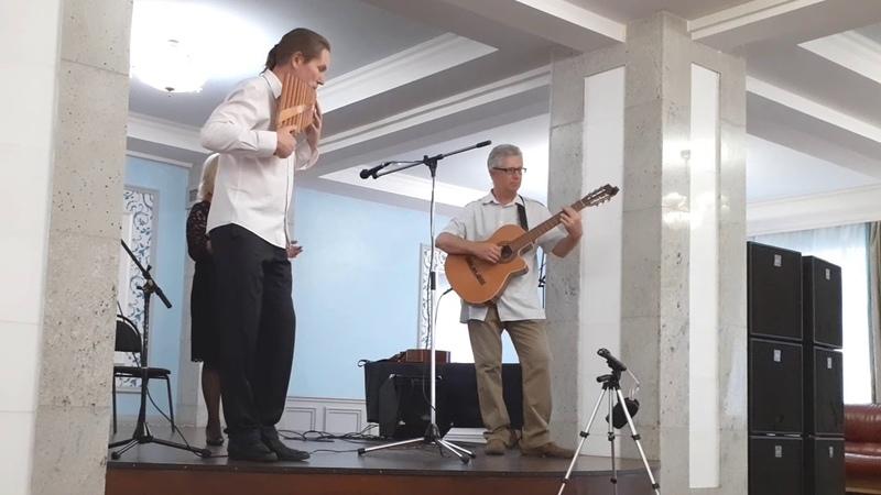 Эрос - инструментальная композиция, пан-флейта, гитара.