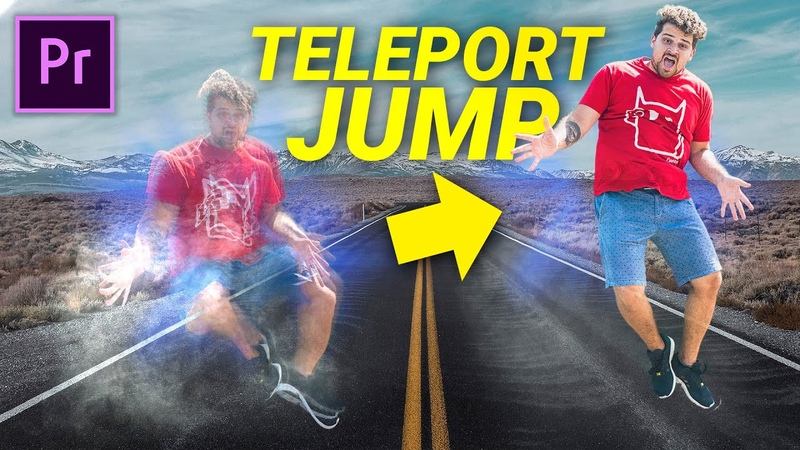 TELEPORT EFFECT Jumper Premiere Pro Tutorial Motion Control