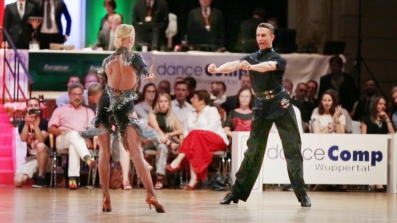 Artur Balandin Anna Salita danceComp Wuppertal 2017 WDSF WO LAT solo S