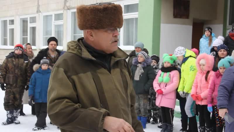 Казачьи сборы село Моховой Привал 7 декабря 2019 года
