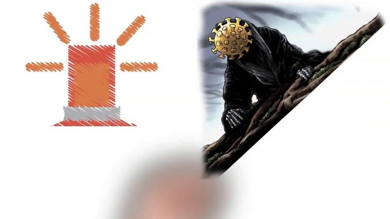 🔴LA FALSA COMMEDIA SUL COVID19 IN UN DISEGNO RIASSUNTIVO E CHIARO❗ ASCOLTA E CONDIVIDI