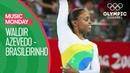 Gymnast Daiane dos Santos Wows to Brasileirinho at the Beijing 2008 Olympics Music Mondays