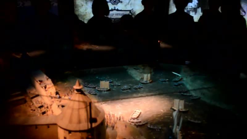 Ораниенбаум, реконструкция взятия Нотебурга