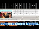 Guitar Solo Tab Porque Te Vas - Cria Cuervos Jeanette