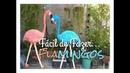 Fácil de Fazer Flamingos para Jardins 1 60 cm