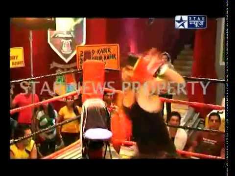 PKYEK Pyaar Ki Yeh Ek Kahaani SBS 14th July 2011 Abhay Fight's
