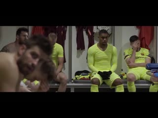 Inside the away dressing room at Anfield after Liverpool 4-0 Barcelona