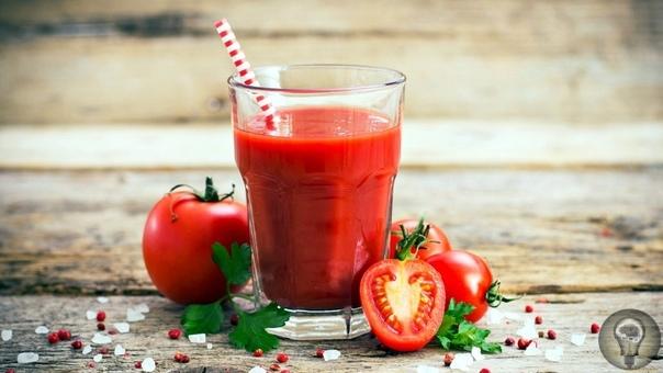 Ежедневное употребление томатного сока сможет сократить употребление многих лекарств