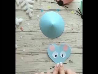 Делаем Мышку на Новый год