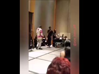 Laurent's freestyleVia @kimberlypgew IGTV #Atlantaworkshop2019