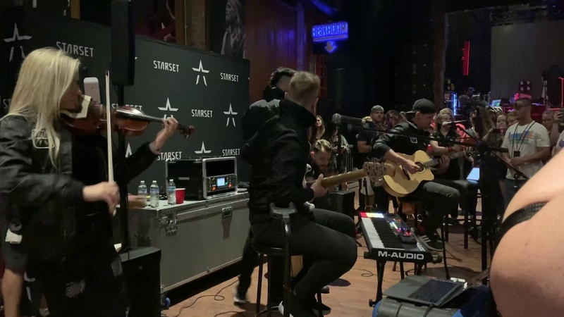 Starset- Into The Unknown Live Acoustic 91319