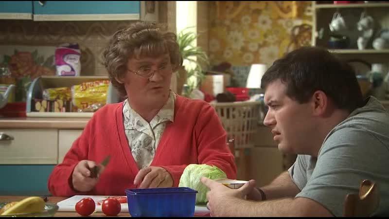 Твой отец не был алкоголиком Отрывок из сериала: Семейка миссис Браун .