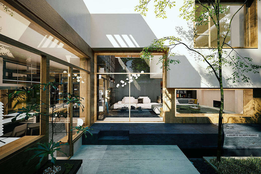 House near Lake Grivita by Atelier / D