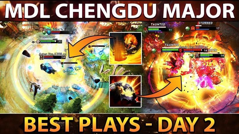 MDL Chengdu Major Dota 2 Best Plays Group Stage Day 2