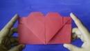 Origami - Sobre Corazón de papel