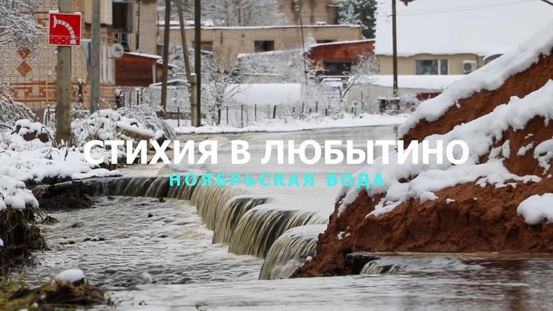 СТИХИЯ В ЛЮБЫТИНО 2019. Ноябрьская вода. (Без комментариев)