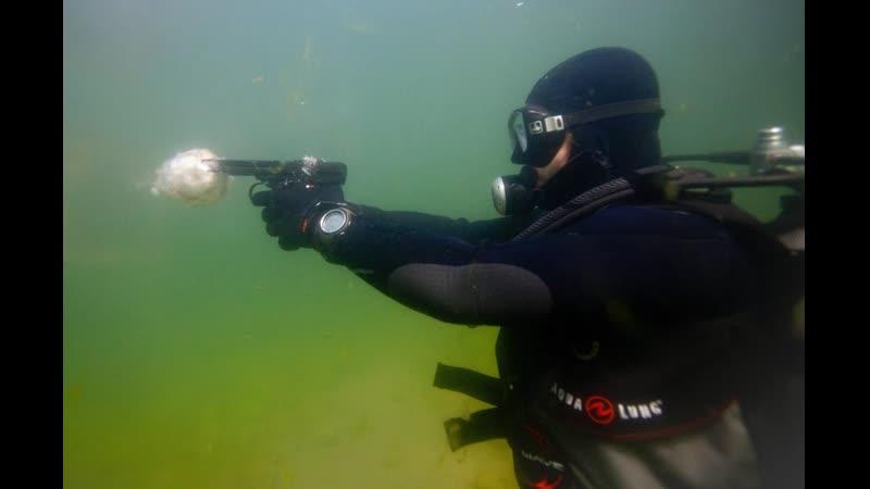 К. Лазарев. АДС: российский автомат стреляет на суше и под водой