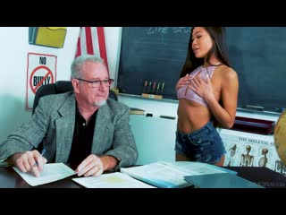 DevilsFilm Vina Sky - Sucking At School порно porno 2020