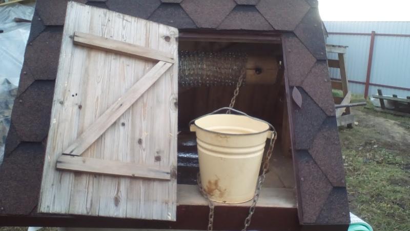 Что делать если прокручивает ворот колодца Барабан колодца прокручивает Жизнь в деревне