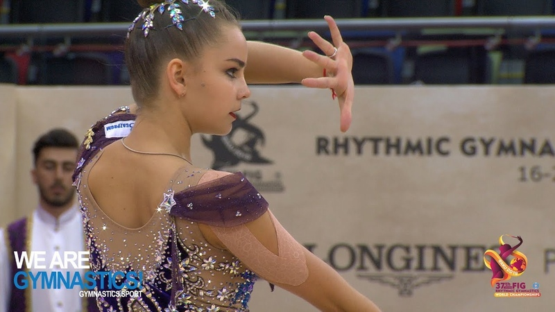 2019 Rhythmic Worlds, Baku (AZE) – Qualifications Clubs and Ribbon, Highlights Day 1