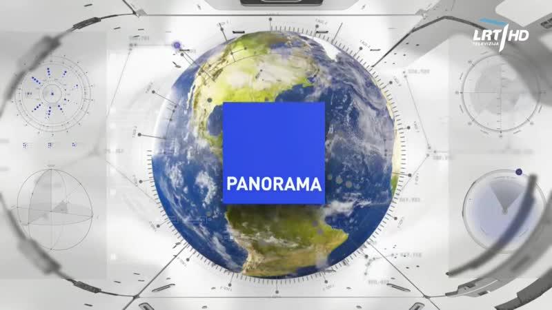 LRT HD - начало Панорамы (14.06.2020)
