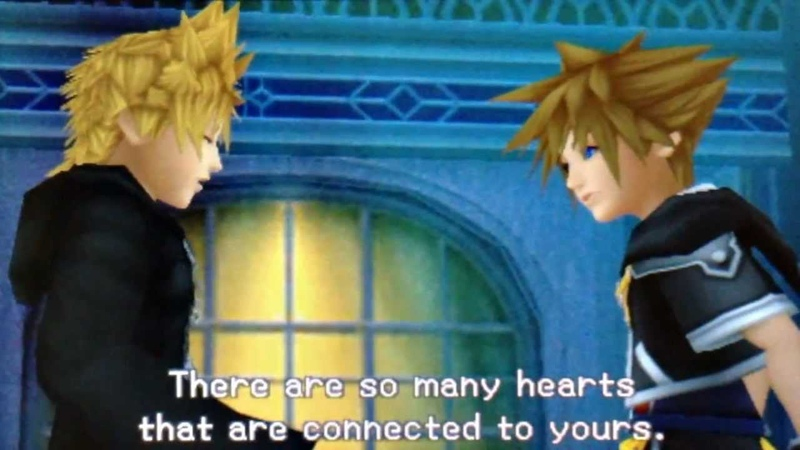 【All Voices Fandub】 Sora Meets Roxas- Kingdom Hearts 3D Dream Drop Distance