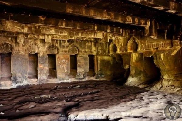 Пещеры Конданы - сооружения, архитектуру которых сложно объяснить примитивным трудом Пещеры Конданы находятся чуть более чем в 30 километрах от городка Лонавала, в деревне Кондана. По