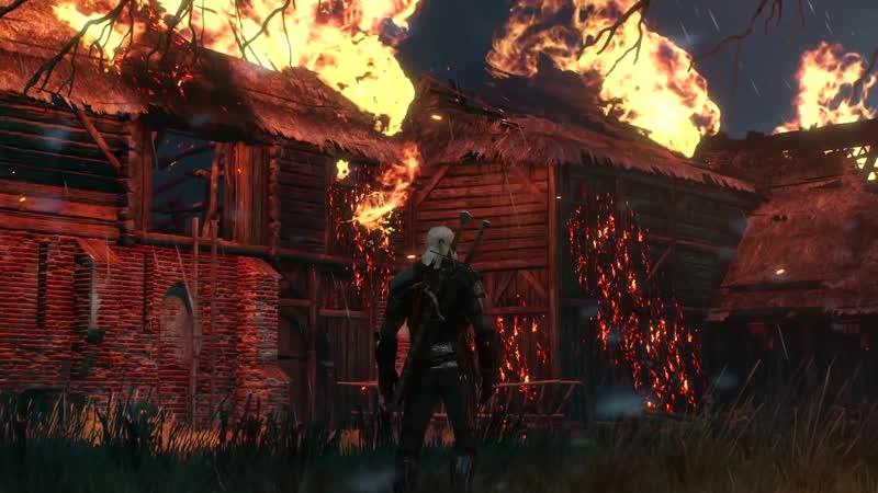 Witcher 3 Wild Hunt Диалог Региса и Геральта