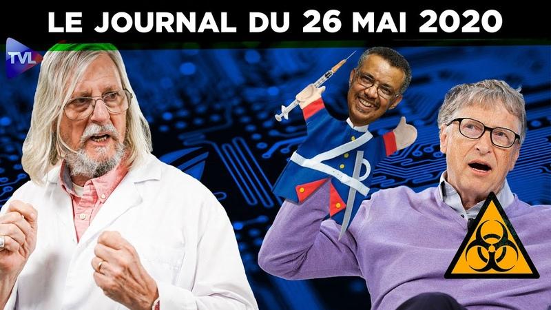 JT - Coronavirus le point dactualité - Journal du mardi 26 mai 2020