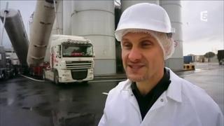 Visite de l'usine de Royal Canin, pas un gramme de viande fraî de la farine !