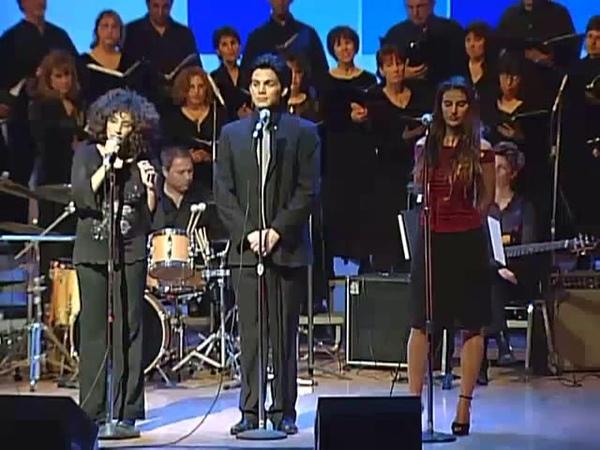 🎸Adam Lambert Noa Dori Maya Haddi As You Walk With Me Im Yirtze Hashem Music by Sharon Farber