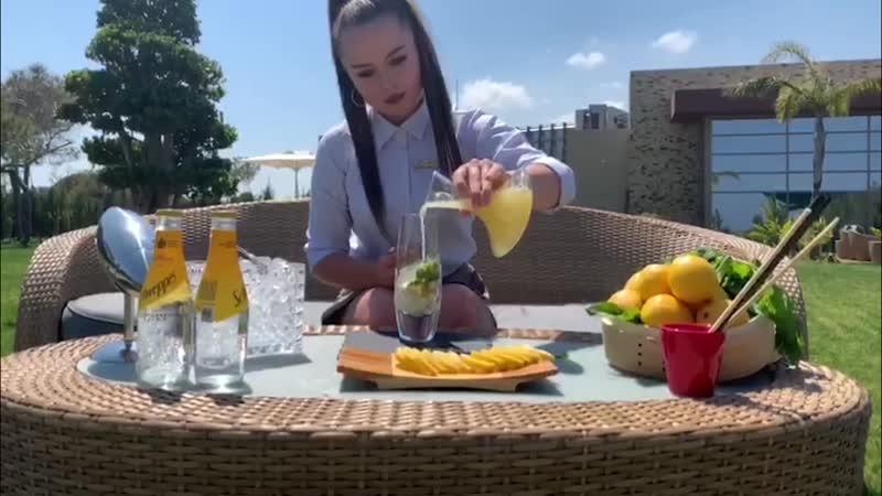 """Наш особенный коктейль """"Kerem Tonic"""", готовящийся по специальному рецепту, просто незаменим в жаркие летние дни!"""