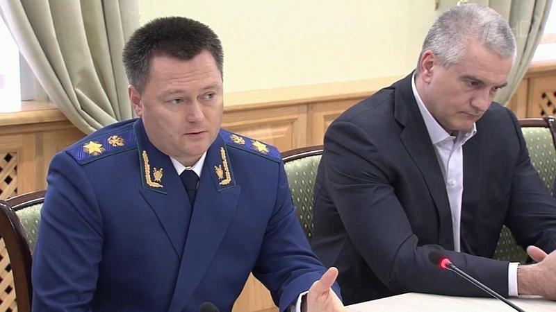Проблемы бизнес сообщества Крыма сего представителями обсудил генпрокурор Игорь Краснов Новости Первый канал