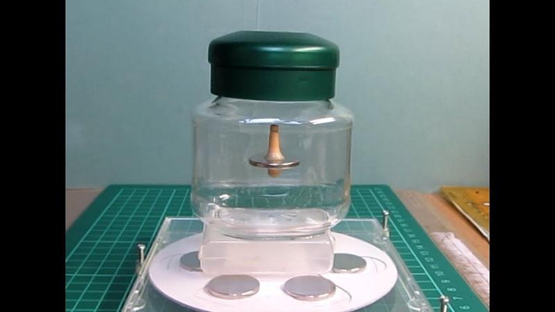空中浮遊ゴマの作り方Ⅱ How to Build a Magnetic Levitating Top Ⅱ