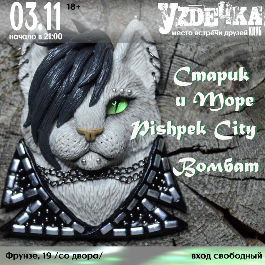 Афиша Новосибирск 03.11 // КотоРок в Уzдечке