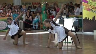 "ОДНОКЛАССНИЦЫ. Школа танцев ""Dancer"".Дуэт.Абызова Дарья и Ерёмина Татьяна,г.Батайск"