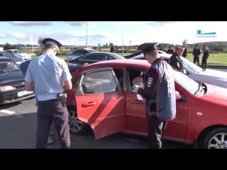 Рейд по таксистам в Пулково