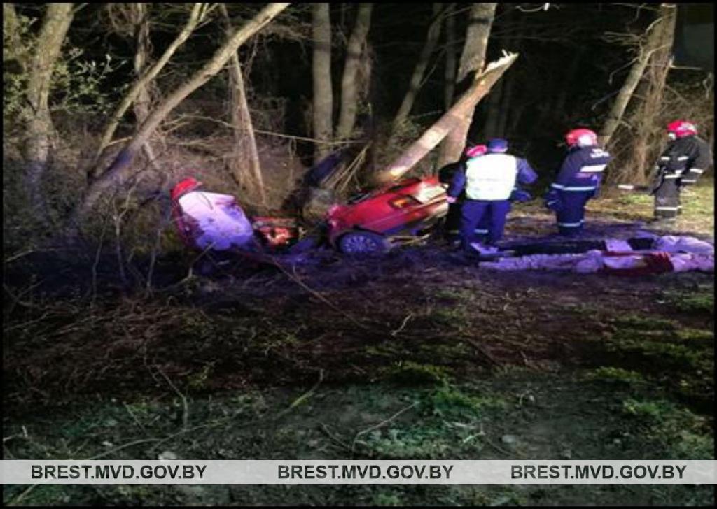 Бесправник за рулём, не пристёгнуты ремнём: официально о смертельном ДТП под Жабинкой